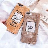 苹果867热线手机壳明星同款oppo定制可爱毛绒一手货源图片