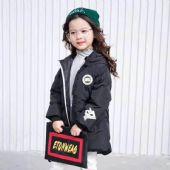 韩范时尚百搭运动带帽卡通恐龙潮流棉衣外套