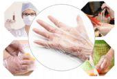 一次性聚乙烯薄膜卫生手套生产厂家