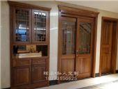 长沙原木家具厂专业可靠、原木博古架、橱柜定制哪家专业