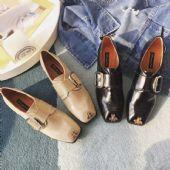 早春新款穿腻了臃肿的棉鞋