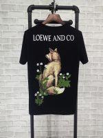罗意威 LOEWE2018新款短袖T恤男女同款狐狸纯棉