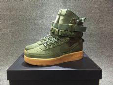 耐克空军一号工装军事风高帮机能鞋