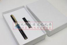 定做熊猫会议U盘礼品商务金属签字笔礼品套装定制红木U盘卡片优盘