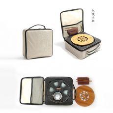 汝窑陶瓷旅行茶具套装快客杯一壶四杯功夫茶具礼盒包装