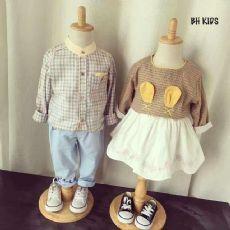 欧韩时尚童装批发厂家直销 微信微商免费代理支持一件代发货图片