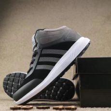 莆田鞋贸城 阿迪达斯爆款猪八加绒情侣徒步鞋时尚男子休闲鞋潮流