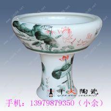 景德镇大缸厂家 陶瓷大鱼缸 荷花缸批发图片