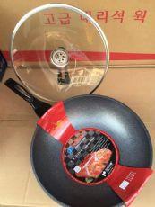 现货 韩国代购麦石锅无油烟煤气电磁两用不粘锅套盒装 包邮图片