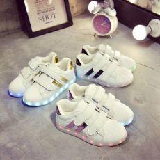 圣贝莎鞋业~LED发光鞋厂家直销代理一件代发