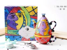 陶缘手绘陶瓷、家居饰品一手货源,零批、散批、混批
