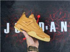 乔丹/Air Jordan【真标裁片级】乔4大黄靴