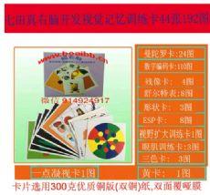 七田真曼陀罗卡-七田真右脑开发视觉记忆训练卡44张192图