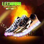 USB七彩灯鞋分销代理一件代发