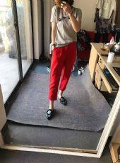 杰西莱正品休闲裤,米奇刺绣,三个尺码,总数100条左右,清货