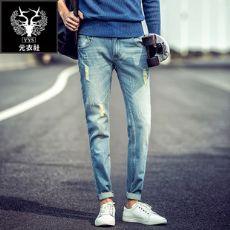 男士牛仔裤厂价直销・招代理一件代发