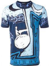 2017夏季新款短袖T恤 爵士歌手拼色短袖tee纯棉