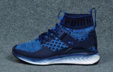 彪马袜子鞋鞋高帮puma 蓝色 36-44