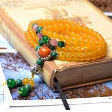 天然水晶佛珠手链一件代发 绝对的一手货源