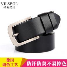 广州皮带厂专业生产设计男女式皮带现货批发订做打样