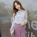 雪纺衫韩版女装代理,一件代发・无需囤货