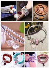 厂家批发直销各种天然水晶饰品、925银饰、文玩佛珠,微商首选货源图片