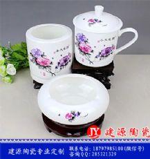 景德镇厂家批发杯子 价格实惠 可加图片定制陶瓷茶杯