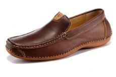 外贸男鞋  真皮豆豆鞋 懒人驾车鞋 一件代发