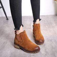 真皮女靴马丁靴专供淘宝一手货源支持一件代发