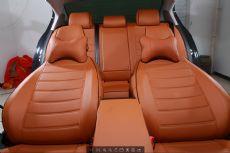 小轿车定制皮革座椅套 汽车坐垫 改装车内饰超真全包围四季座椅套