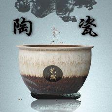 景德镇陶瓷颜色釉洗浴大缸