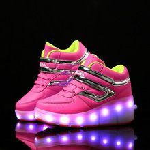 USB充电发光鞋一件代发诚招童鞋代理
