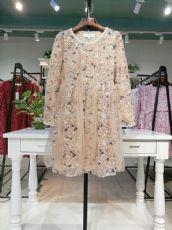 一线专柜东莞品牌女装朵拉薇拉四季女装供应