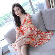 引领潮流几款连衣裙,搭双高跟鞋更有女人味微商女装代理一手货源厂家图片