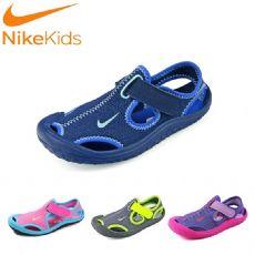 耐克透气男童鞋包头凉鞋女童宝宝儿童大童小童沙滩洞洞运动鞋