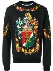 杜嘉班纳 Dolce&Gabbana 男装长袖卫衣宫廷卫士