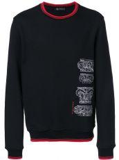 Versace 范思哲刺绣 男装长袖卫衣 纯棉17新款