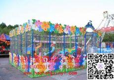 儿童游乐设备欢乐喷球车昊恒新专业生产厂家