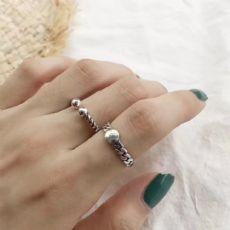 韩国潮流饰品S925纯银免费招代理 戒指项链手链一件代发图片
