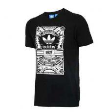 正品阿迪达斯adidas跆拳道男装新款经典运动休闲短袖T恤