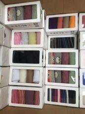 棉里爱袜子厂家批发价格 地摊10元模式好棉乡盒装袜子货源供应