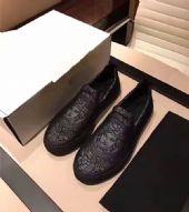 欧美2017夏季新款男鞋美杜莎休闲鞋平底透气板鞋一脚蹬懒人乐福鞋