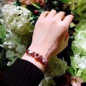 韩国东大门潘多拉款新年转运小红绳奢华水晶满钻幸运手绳手链批发招代