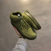 耐克 air force107 Mid Olive绿色高帮