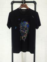 麦昆McQueen 2018春款T恤 男装短袖丝光棉