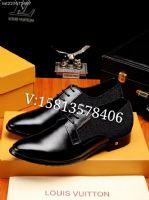货源供应商,支持一双代发lv高仿男鞋