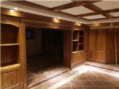 长沙市实木家私厂环保材料、实木衣帽间、橱柜定做成本较低