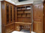 长沙原木家具定制厂公司直销、原木书柜、推拉门定做环保处理