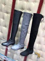 高端货源 SW Lowland长靴高跟过膝靴子批发一件代发图片