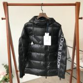 Moncler 蒙口冬季茧形刺绣羽绒服